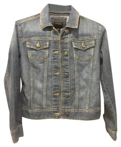The Limited Medium Wash Womens Jean Jacket