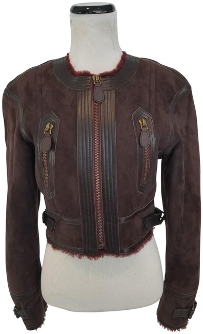 Item - Oxblood Harlesbury Suede And Jacket Size 4 (S)