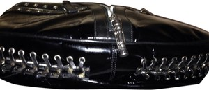 Versace Sexy Patent Leather Shoulder Bag