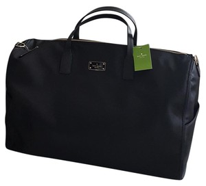 Kate Spade Duffle Black Travel Bag