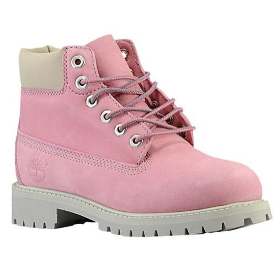7508546cab389 Timberland Bubble Gum Pink Color New Women's Nellie Waterproof Chukka  Boots/Booties