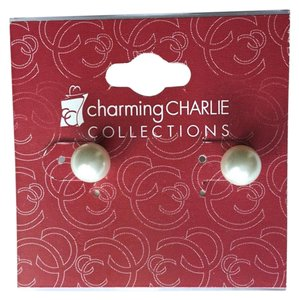 Charming Charlie Charming Charlie Faux Pearl Post Stud