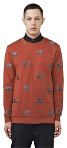 i love ugly Mens Brown Bear Rusty Sweater