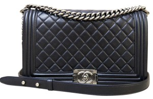 Chanel Lambskin Medium Shoulder Bag