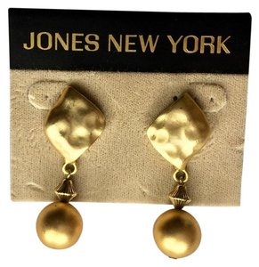 Jones New York Jones NY Gold Tone Dangle Earrings