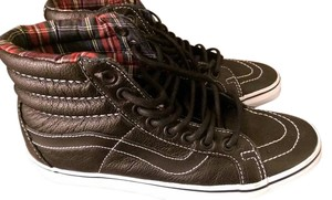 Vans High Top Sk8 Leather Athletic