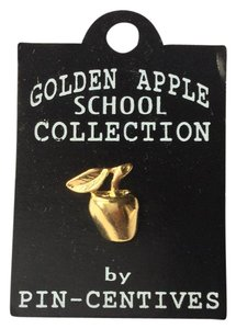 Pin Centives NWT Golden Apple School Collection Teacher Pin Pin-Centives Brooch