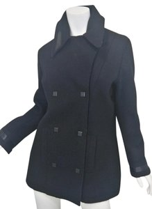 Chanel Chanel Double Breasted Wool Peacoat