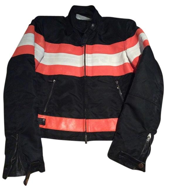 Preload https://item5.tradesy.com/images/ralph-lauren-black-and-orange-motorcycle-jacket-size-4-s-1987294-0-0.jpg?width=400&height=650