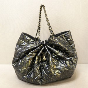 Chanel Tote Rock In Large Chain Hobo Bag