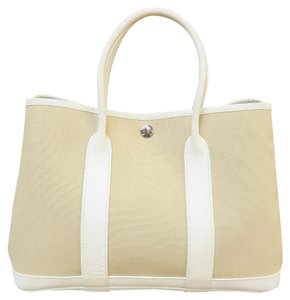 Hermès Garden Party Pm Tote in poussiere