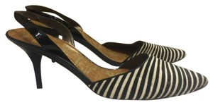 Sam Edelman Black and White Pumps