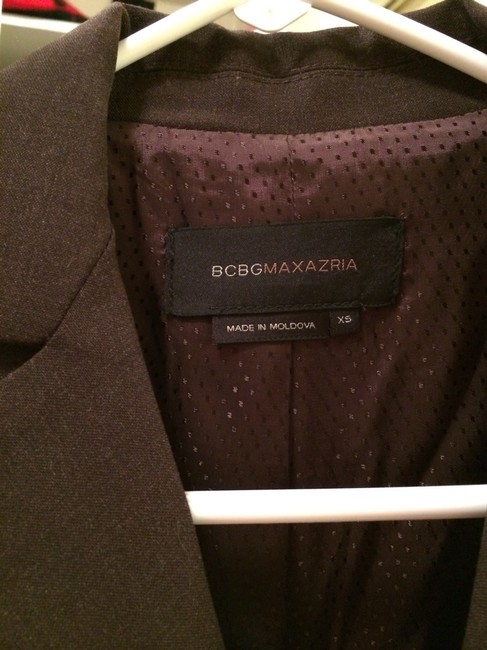 BCBGMAXAZRIA Bcbg Maxazria, Suit Jacket, Brown, Two Button, Flap Pocket, Blazer, Suit, Theory
