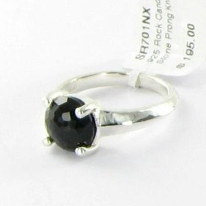 Ippolita Ippolita Rock Candy Ring Single Stone Black Onyx Sterling 925