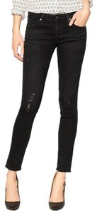 AG Adriano Goldschmied Rips Skinnies Edgy Punk Skinny Jeans-Distressed