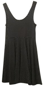 Free People short dress Black & White Polka Dot on Tradesy