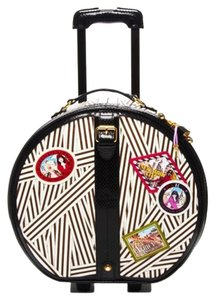 Henri Bendel Black and White Travel Bag