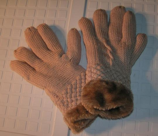Unknown BOGO Free extra thick fur lined knit gloves free shipping