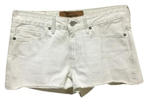 Levi's Cut Off Shorts White