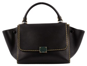 Cline Celine Trapeze Leather Tote