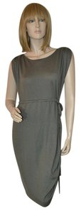 Christopher Fischer short dress Greige Cashmere Blend Chris Fisher Ruching on Tradesy