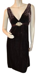 Laundry by Shelli Segal Velour Holiday Dress