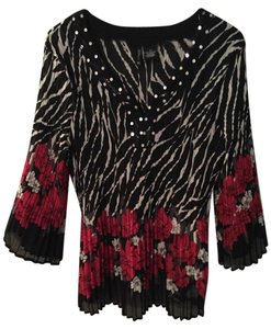 New Directions Top Black/Multi