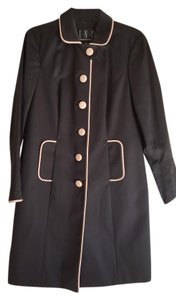 INC International Concepts Trench Classic Vegan Raincoat