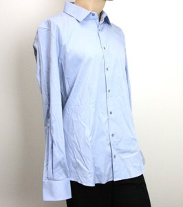 Gucci Authentic Gucci Men's Dress Shirt Fitted Light Blue 47/18.5 221620