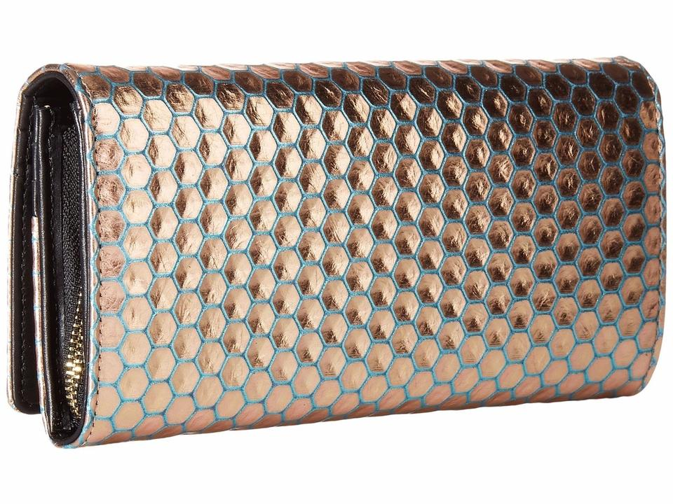c92a9ed11f Vivienne Westwood Braccialini Honey Comb Long Wallet with Chain ...
