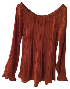 Dress U by Sharon Top burnt orange