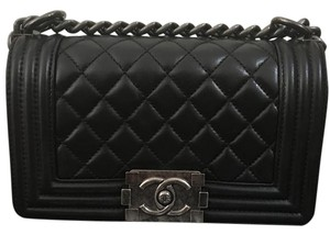 Chanel Boy Lambskin Boy Shoulder Bag