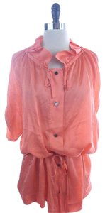 Banana Republic Peach Top Orange