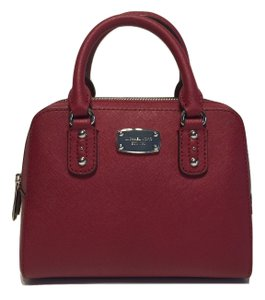 Michael Kors Satchel in Cherry Red