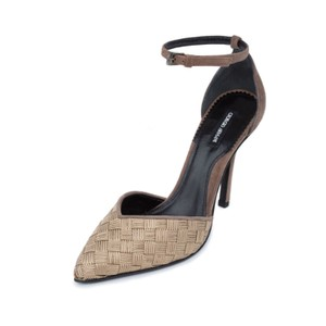Giorgio Armani Beige Brown Pumps