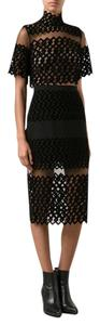 David Koma Velvet Party Date Holiday Dress