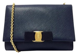 Salvatore Ferragamo Miss Vara Mini Saffiano Cross Body Bag