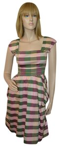 Betsey Johnson short dress Multicolor Stripes Pouf Cotton on Tradesy