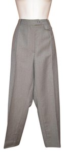 Burberry Vintage Ankle Trousers Wool Pants