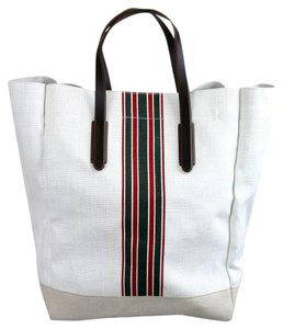 Gucci Large Tall Tote in White