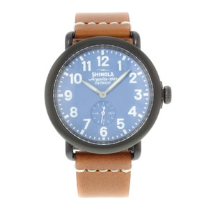 Shinola Shinola Runewell 10000170 Stainless Steel Quartz Men's Watch (14526)