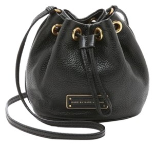 Marc Jacobs Leather Gold Hardware Cross Body Bag