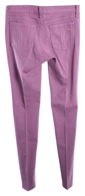 Item - Purple Light Wash Leggings Skinny Jeans Size 26 (2, XS)