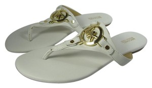 Michael Kors Thong Slide Flat white Sandals