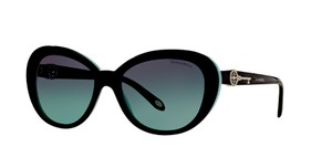 Tiffany & Co. TF 4118 80559S (color) BLACK with TIFFANY BLUE LENS - TIFFANY KEY COLLECTION - Free 3 Day Shipping