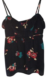 American Eagle Outfitters Top Navy floral