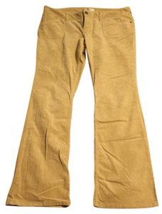 SO Corduroy Flare Pants khaki