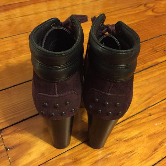 Tod's Burgundy Boots