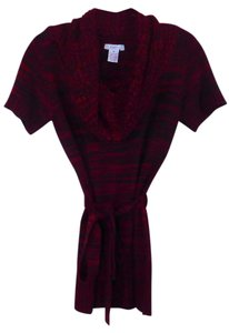 Candie's Tunic Tie Sweater