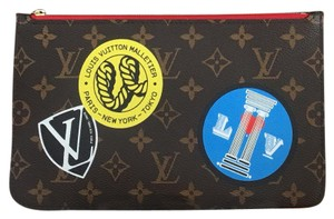 Louis Vuitton Brand New Limited Edition World Tour Neverfull Pouch!
